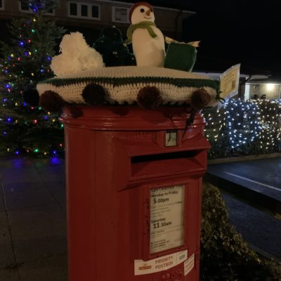 Decorated Postbox